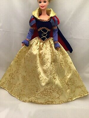 Barbie Doll Outfit Cape w// Faux Fur Collar NEW Viking Warrior Barbarian Costume