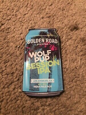 SESSION IPA GOLDEN ROAD WOLF PUP BEER TAP HANDLE Brand New