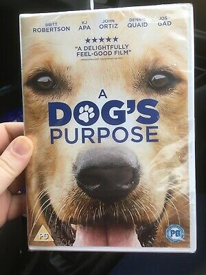 A Dog's Purpose [DVD] [2017] - DVD BRAND NEW AND SEALED