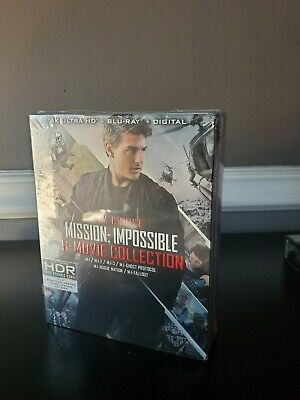 Mission Impossible 6 Movie Collection (4K Ultra HD Blu-ray/Blu-ray)