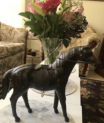 Leather Horse Collectable