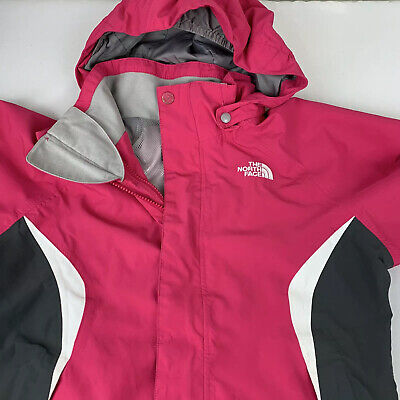 The North Face Hyvent Jacket Lightweight Girls Medium 10-12 Coat TNF Ski