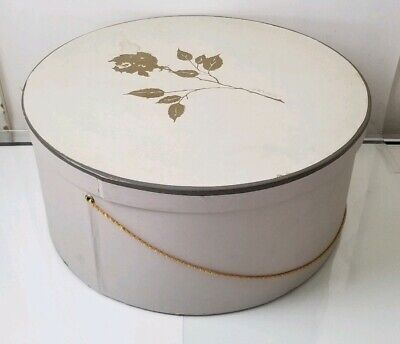 Large Ladies Hat Box Lord And Taylor