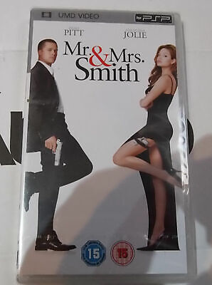 Mr and Mrs Smith NEW Sony PSP UMD Video Movie