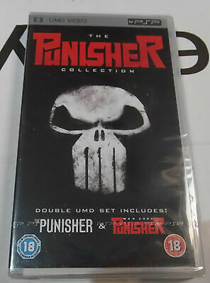 The Punisher collection  NEW Sony PSP UMD Video Movie