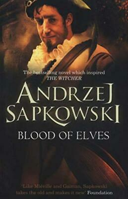 Blood of Elves: Witcher 1 – Now a major Netflix show (The Witcher) Paperback...