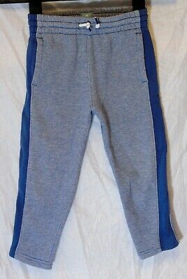 Boys Gap Blue Stripe Drawstring Waist Comfy Casual Joggers Trousers Age 3 Years