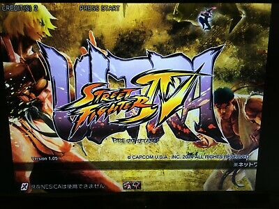 Taito Type X2 New MultiGame 202in1 Ultra Street Fighter Ikaruga Arcade Jamma PCB