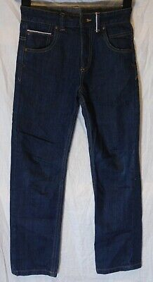 Boys George Dark Blue Denim Adjustable Waist Relaxed Fit Jeans Age 8-9 Years