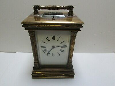 Brass Carriage Clock - Spares and repairs
