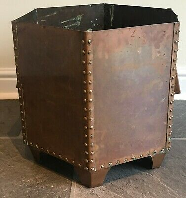 Arts and Crafts Copper Planter of Larger Form