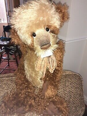 Charlie bears isabelle lee. Mr. Brownlow.  Mohair. L/ Edition.