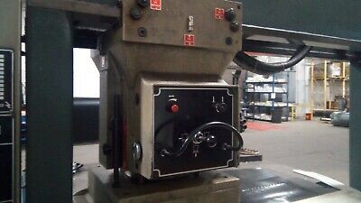 USM GTH 1655 30 Ton Traveling Head Clicker Die Cutting Press, 240V 3 PHASE