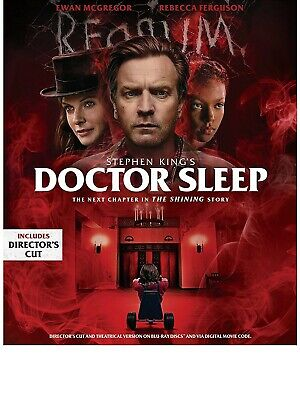 Doctor Sleep (Director's cut only) Blu-ray Only, Please read
