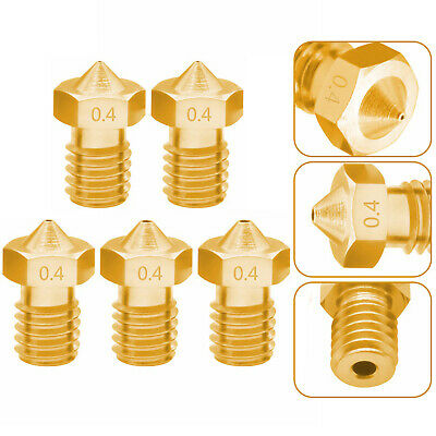Creality 3D Printer Extruder Brass Nozzle Print for CR-10 Series Ender-3 O1A0