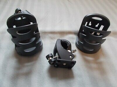 Universal Stroller, Bike, Walker Cup Holder - 2 Pack - New