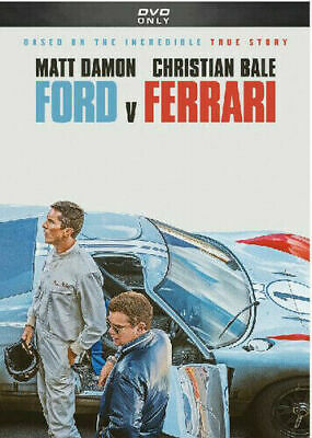 Ford V Ferrari NEW DVD * ACTION DRAMA * SHIPPING NOW !!