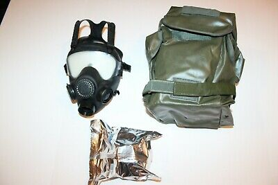 NBC Gas Mask Polish MP5 Full Face Military Police w/bag Use Israeli Filter NATO
