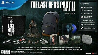 The Last Of Us Part 2 - ELLIE EDITION Limited Collectors Edition PS4 Steelbook