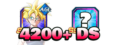 Dokkan Battle🌟AGL Gohan + 1 Random LR + 4400 DS🌟Farmed Jap Account