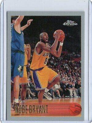 Kobe Bryant 1996-7 Chrome Rookie  #138 Los Angeles Lakers / RP