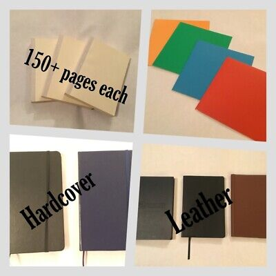 Blank journal - ready to use or alter - pick your color, style, price All NWT