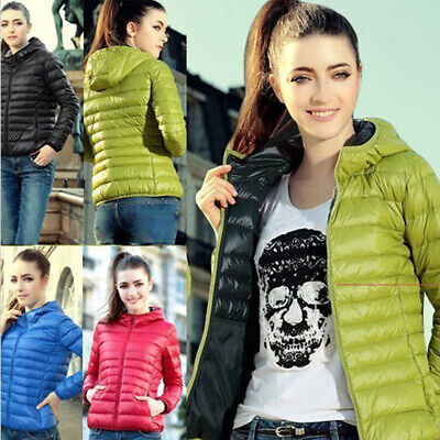 New Candy Color Fashion Women Thin Slim Down Coat Warm Jacket Winter Overcoat