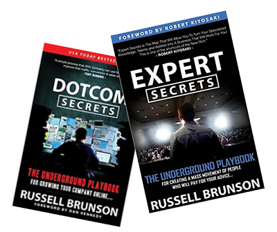 DotCom Secrets and Expert Secrets  by Russell Brunson In PDF Format
