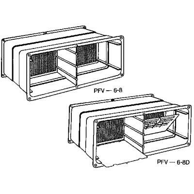 NorWesco Adjustable Foundation Vent 596037  Pack of 12