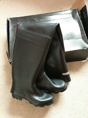 Wading Boots Waders Black Rubber Rubber Fagum Stomil