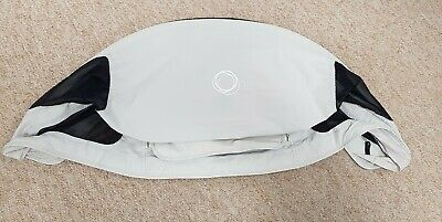 Bugaboo Buffalo Silver/light grey Extendable Breezy Hood/sun canopy