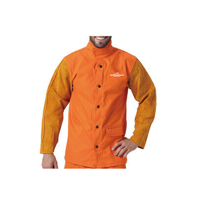Welding Jacket, Proban With Leather Sleeves