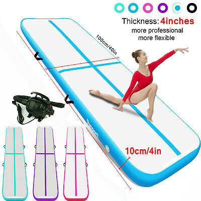 FBSPORT 5-12m Airtrack Air Track Floor Inflatable Gymnastics Tumbling Mat GYM UK