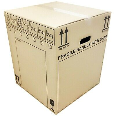 Extra Large (XXL) Cardboard Boxes - Strong Double Wall Removal Moving Boxes