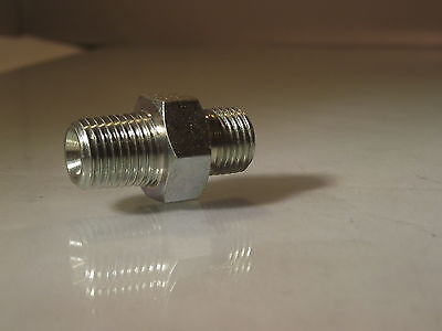 NPT Male-BSPP male Cone Nipple Adapters For Air and Hydraulics,npt Connector