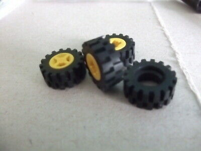 NEW 8 Axles With 12 Tyres /& 12 Wheels 3 TYPES LEGO 4624 2926 87414