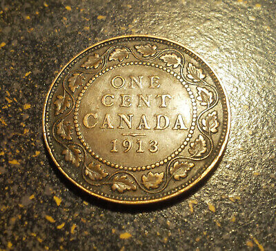 1913 Canada Large Cent - P1913-16