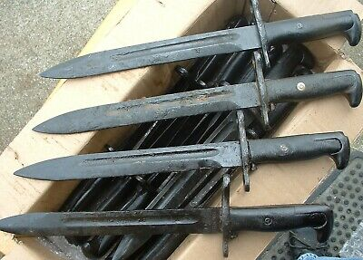 Ww2 Type Unissued Unsharpened M1 Garand Bayonet Ens 10 In.