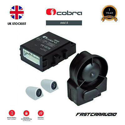 Cobra Thatcham A4615 Cat 2-1 Wireless Canbus Alarm (Including Programming)