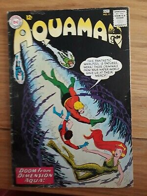 "AQUAMAN #11 with 1st Appearance of ""MERA"", 1963, White pages Vg+"