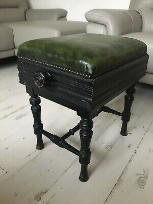 Vintage Antique BROOK PIANO STOOl