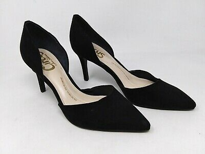 New! Women's Circus by Sam Edelman Tatianna D'Orsay Pumps - Black B29