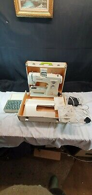 Frister + Rossmann Model 504 Portable Electric Sewing Machine with Case & Table