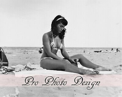 Bettie Page 8x10 Photo Print 1950s Sexy Queen of Pinups Model (B96)