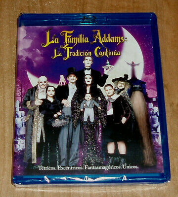 Addams Family the Tradition Continuous Blu-Ray New Sealed (Sleeveless Open) A-B