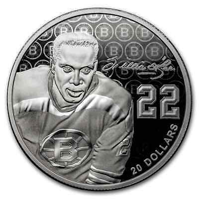 2020 Canada Silver $20 Black History Month: Willie O'Ree - SKU#206687