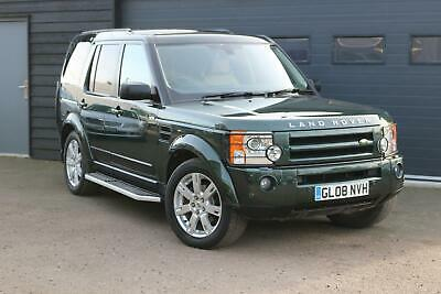 2008 LAND ROVER DISCOVERY 3 2.7TD V6 AUTO HSE 87000 Miles 6M Warranty