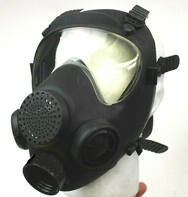 Polish Military Gas Mask Chemical Nuclear Biological Warfare 40mm Nato Israeli