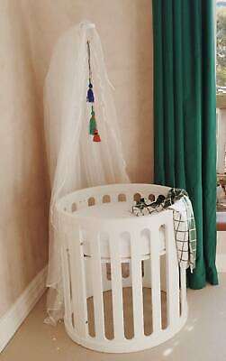 Kaylula Cot Net & Stand in White