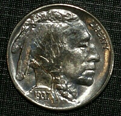MS- 65 1937-D UNITED STATES Buffalo Nickel  5 cents (594M)